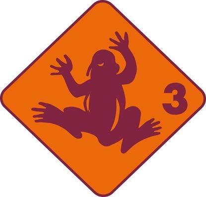 Bild von Kinderschwimmen Frosch