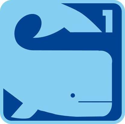 Bild von Kinderschwimmen Wal